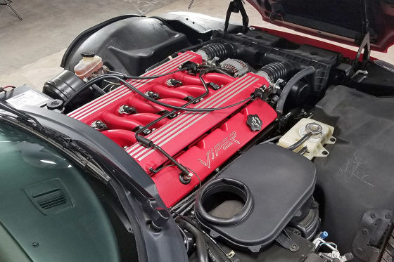 Diese Dodge Viper RT/10 wurde nie gefahren