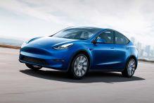 Präsentation des neuen Tesla Model Y