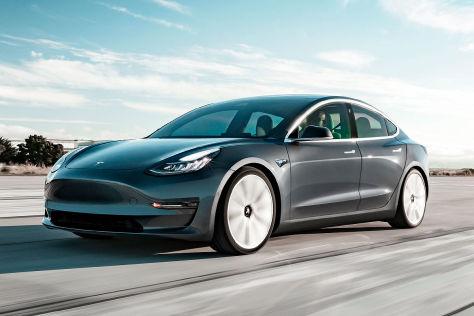 Tesla Model 3 (2019): Leasing