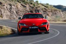 Toyota Supra (2019): Kennzeichen-Position