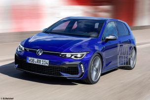 VW Golf 8 R (2020)