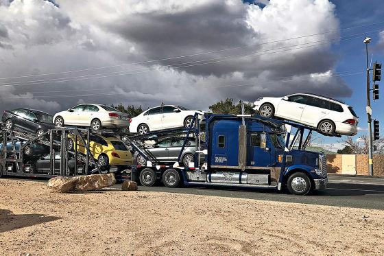 Hier stehen die Schummel-Diesel von VW