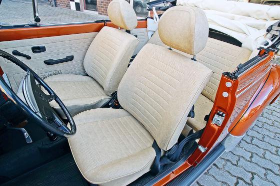 Dieses VW Käfer Cabrio soll fast 70.000 € kosten