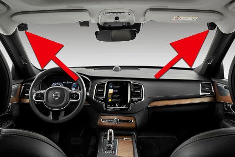 Volvo überwacht den Fahrer