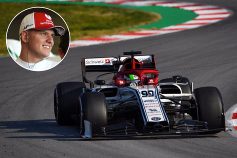 Mick Schumacher Fahrt Formel 1 Test Autobild De