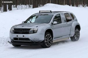Duster Dacia EV (2019): Erlkönig