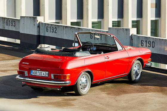 VW 411 Cabrio