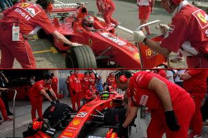 Der Vergleich: Zwei Schumis im Ferrari
