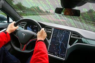 Hacker lenken Tesla auf Gegenfahrbahn