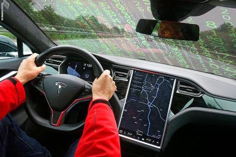 Tesla: China-Hacker manipulieren Autopiloten