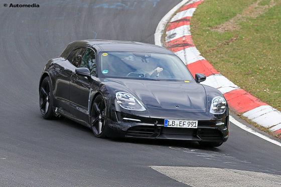 Der E-Kombi von Porsche