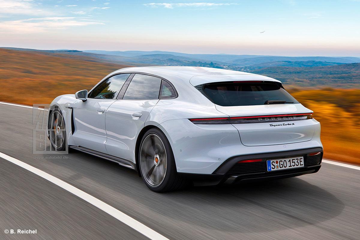 Porsche Taycan Sport Turismo (2020)