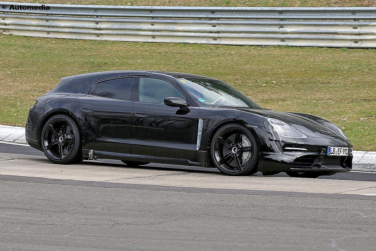 Porsche Taycan Sport Turismo (2020): Erlkönig