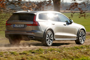 Cross Country: läuft stabiler als der XC60