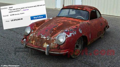 Porsche 356 bei Ebay zu verkaufen