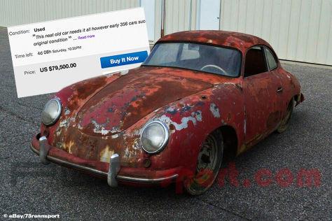 Rostiger Porsche 356 bei Ebay zu verkaufen