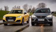 Audi SQ2 gegen Cupra Ateca: Test