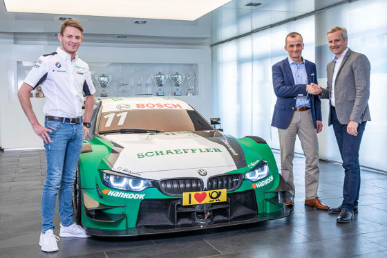 bmw m4 dtm 2019 im schaeffler look. Black Bedroom Furniture Sets. Home Design Ideas