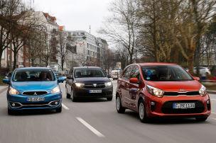 Deutschlands günstigste Autos im Test