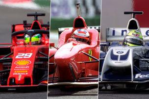 Die schnellsten Familien der Formel 1