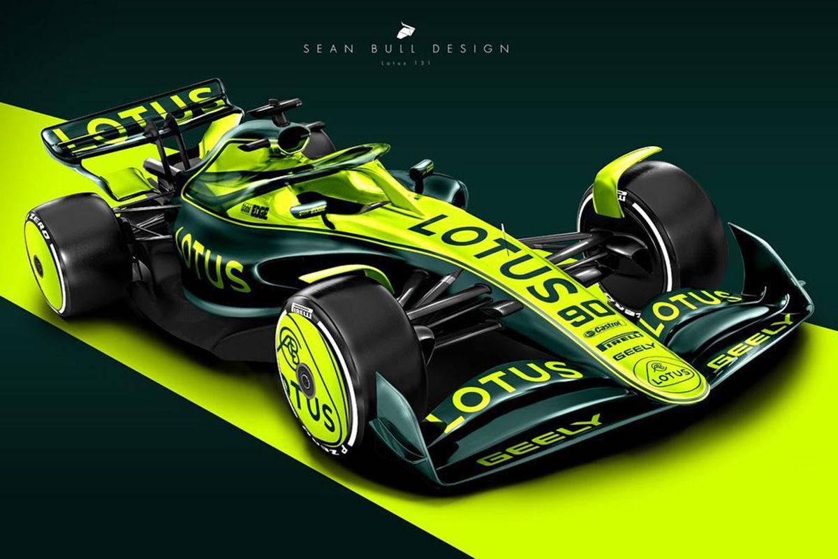 Formel-1-Autos 2021 von Sean Bull