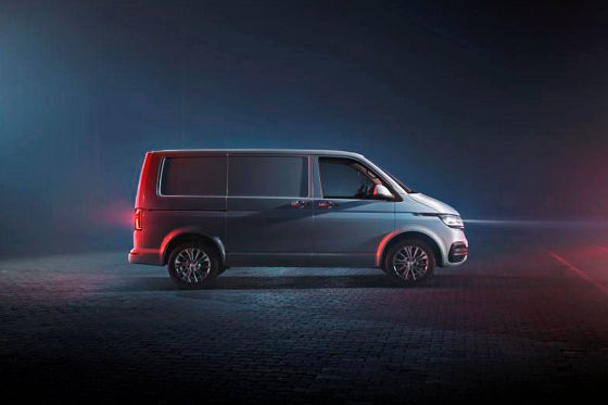 VW frischt den Transporter auf