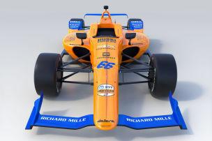 So sieht Alonsos McLaren aus