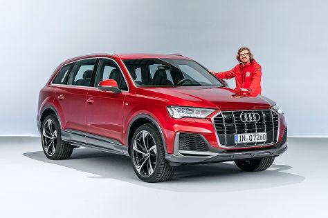 Audi Q7 Facelift 2019 Test Inneraum Marktstart Sq7 Motoren Autobild De