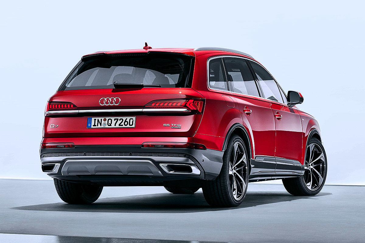 Bildergalerie Audi Q7 Facelift (2019)