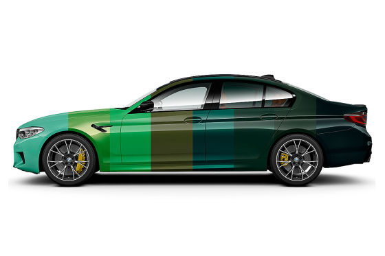 BMW M5 Competition in über 100 Farben