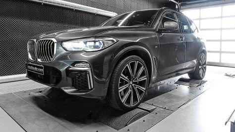 BMW X5 M50d: Tuning