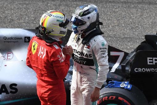 Vettel und Bottas