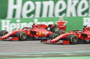 Ferrari hat zwei Probleme