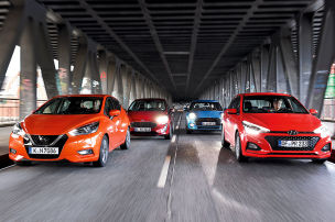 Fiesta, Mini, Micra, i20: Test