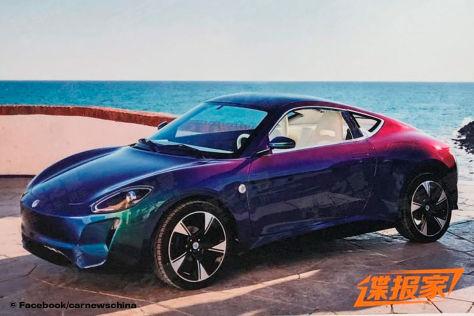 Zedriv GT3: Elektrischer Porsche-Klon aus China