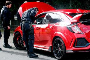 So kontrolliert die Polizei am Car-Freitag