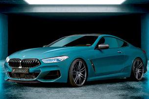 BMW 8er mit 21-Zoll-Felgen