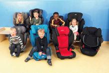 Kindersitz-Test: Gruppe 2/3