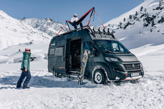 Sunlight Cliff 4x4 Adventure Van