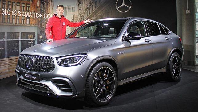 Facelift für das V8-SUV-Coupé