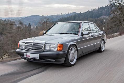 Mercedes 190 Tuning: KW-Fahrwerk