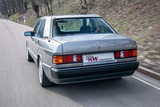 Neues Fahrwerk für Mercedes-Klassiker