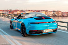 Porsche 911 Targa (2020): Erlkönig