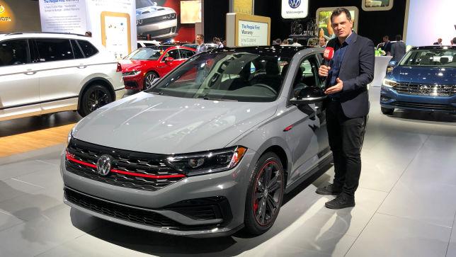 Die GTI Limousine von VW
