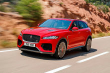 Jaguar F-Pace SVR: Test