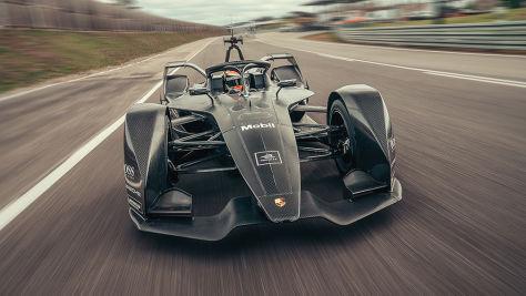 Porsche testet Formel E