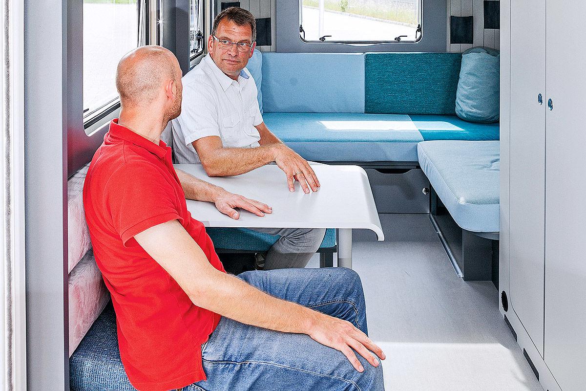 Dethleffs Coco Lounge im Wohnwagen-Test