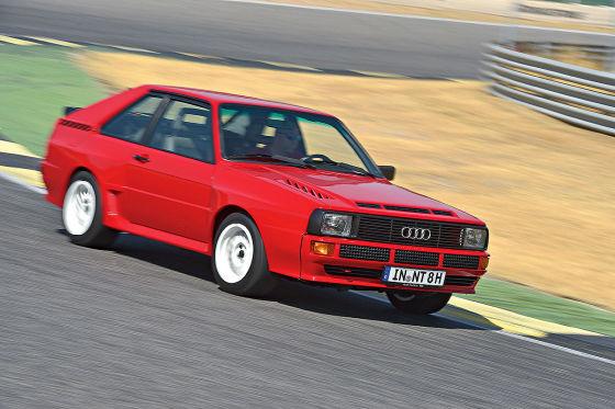 Audi Sport quattro: Klassiker des Tages
