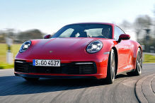 Porsche 911 (992) Carrera 4S: Test