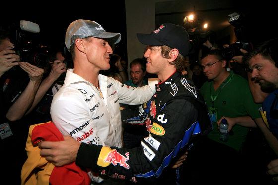 Jetzt sprechen Vettel und Schumi III